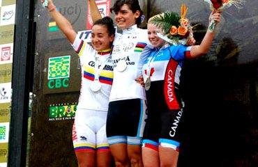 Colombia y un nuevo podio en Brasil con la talentosa Xiomara Guerrero