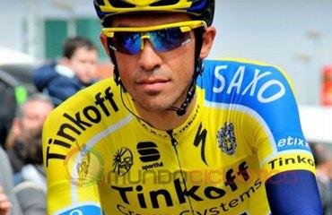 Contador se mantuvo al frente
