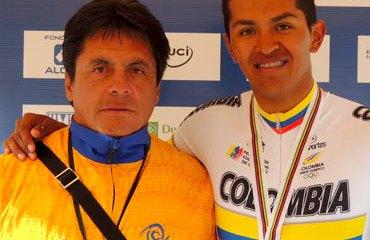 'Chepe' Castro en compañía de uno de sus 'pupilos' Diego Dueñas