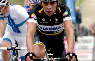 Duarte se mantuvo dentro del Top 10 en el Trentino