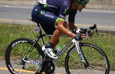 Juan David Vargas en la reciente Vuelta al Valle