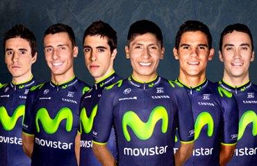 Lista la preselección del Movistar Team para el Giro 2014