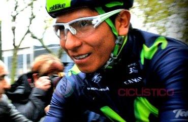 Nairo Quintana es el mejor colombiano en el ranking individual