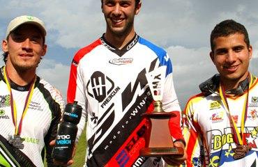 Vincent Pelluard, Carlos Mario Oquendo y Carlos Ramírez