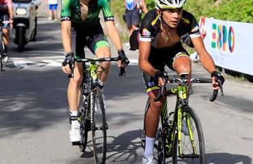 Duarte ya logró acceder al Top 20 de la 'Corsa Rosa'