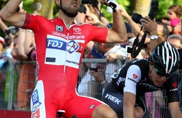 Bouhanni y una nueva victoria para el FDJ.fr en el Giro