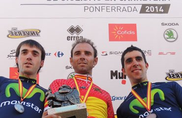 El podio de los Campeonatos Nacionales CRI en España