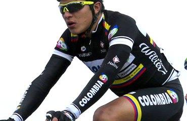 Edward Díaz estuvo muy activo durante la competencia suiza