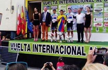 El colombiano Jorge Iván Gómez en lo más alto del podio español