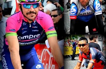 Atapuma, Serpa y Acevedo, por Colombia en el Tour
