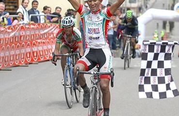 Sastoque ganó en Cogua y se trepó al liderato de la ronda cundinamarquesa