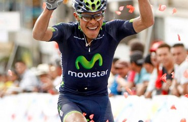 Montaña ganó en Fusagasugá y muestra gran nivel para la Vuelta a Colombia (Foto©PrensaMovistarTeamAmerica)
