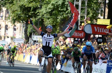 Marcel Kittel primer vencedor en el Tour de Francia 2014