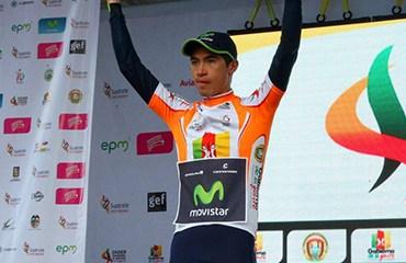 Cristian Talero retomó la punta de la general de los velocistas en la ronda nacional