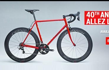 Specialized Allez, la bici para celebrar el 40 Aniversario.