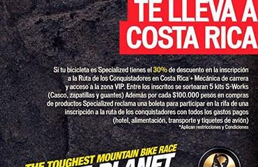 El concurso de Specialized Colombia dará cupo a una famosa carrera.