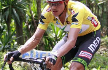 Cano está en el liderato desde la cuarta etapa.