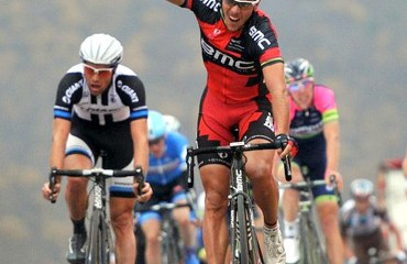 Gilbert ganó la segunda jornada y es el líder de la prueba china (photo:BMC/grahamWatson)