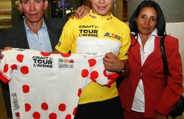 López será el primer colombiano en el Astana.