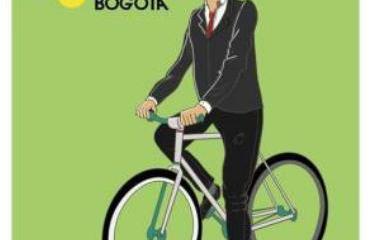 Así se promociona la vitrina del ciclismo en la capital del país.