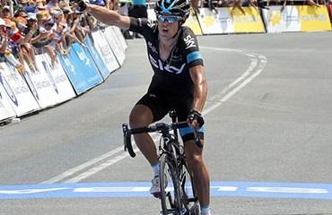 Richie Porte alcanzó una agridulce victoria en Willunga Hill