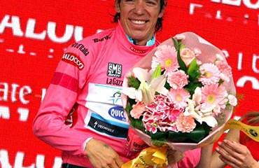 El doble subcampeón del Giro de Italia se presentará junto a su equipo Ettix-Quikstep este miércoles en Bélgica