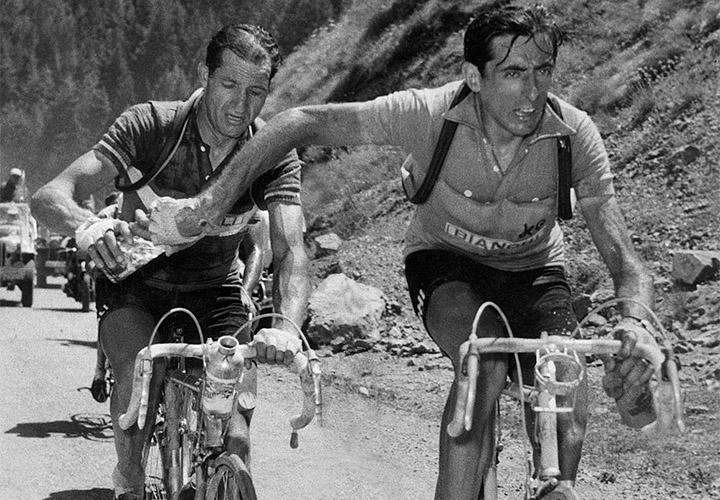 Dieciocho escarabajos estarán en la partida de la prueba que conmemora a los dos mitos del ciclismo italiano: Fausto Coppi y Gino Bartali