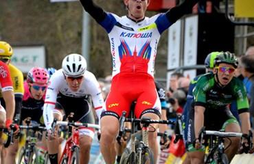El noruego Kristoff fue el vencedor de la prueba belga