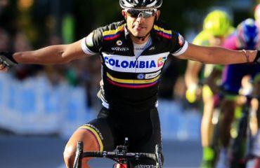 Leonardo Duque, el mejor de los pedalistas colombianos en la Clásica francesa Paris-Camembert