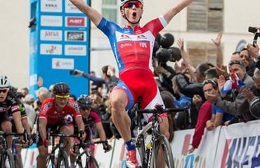 Marko Kump vencedor de la segunda etapa del Tour de Croacia