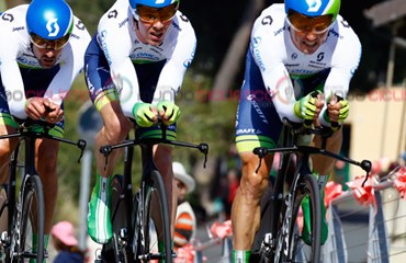 El Orica de Chaves fue el gran vencedor de la jornada inaugural del Giro de Italia 2015