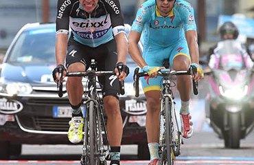 Urán terminó tercero en las dos últimas etapas de montaña del Giro de Italia 2015