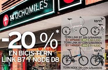 14 Ochomiles abrió su quinta tienda en la ciudad de Bogotá enfocada en Ciclismo Urbano