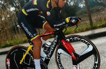 Brayan Ramírez el mejor de los 'escarabajos' en el Tour de Eslovenia