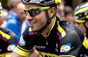 Carlos Julián Quintero, el mejor en la etapa y en la general del Tour de Eslovenia