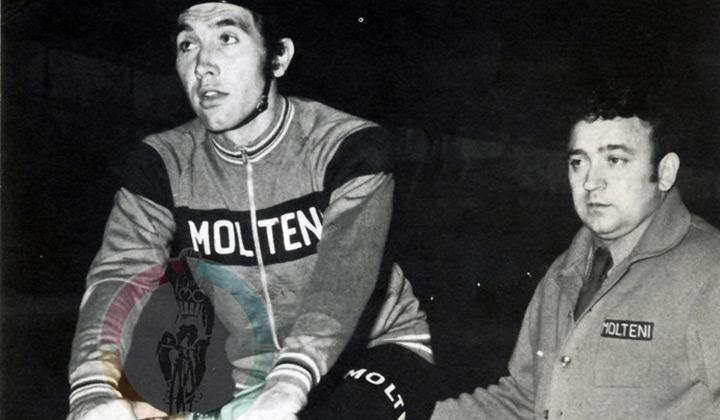 Merckx consiguió el Record de la Hora en 1972, la marca estuvo vigente durante 28 años cimentando aún mas la leyenda del belga