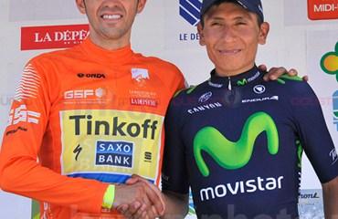 EL 1-2 de la carrera , un Duelo que veremos en el Tour de francia