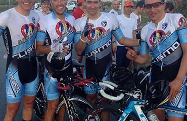 Ejeciclismo se puso al comando del Nacional Master tras la primera jornada de competencias
