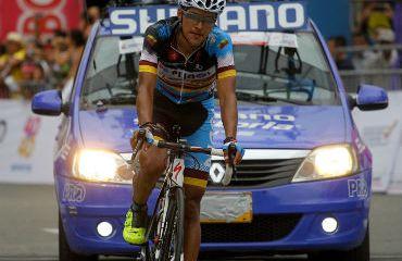 Alejandro Serna, ganador de la sexta etapa de la Vuelta a Colombia