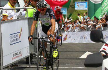 Oscar Sevilla ganó novena etapa de Vuelta a Colombia 2015