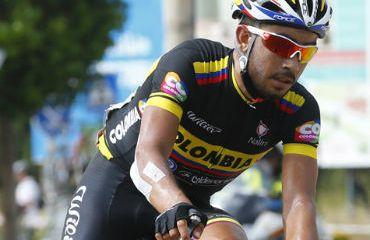Rodolfo Torres, protagonista en la etapa de este lunes