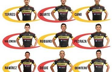 El Team Colombia confirmó los nueve escarabajos que iniciaran la Vuelta a España el 22 de Agosto en Puerto Banús