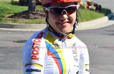 Camila Valbuena correrá la Ruta y la CRI del Mundial de Richmond