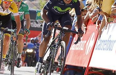 Quintana terminó en el cuarto lugar de la general en el final competitivo de la Vuelta a España 2015