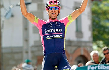 Rubén Plaza ganó una monumental etapa en Cercedilla