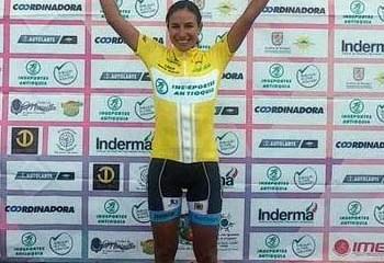 Muñoz se coronó campeona de la ronda antioqueña para la categoría femenina