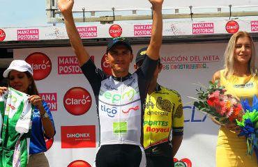 Stiver Ortiz vencedor de la séptima etapa del Clásico RCN 2015