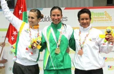 Natalia Muñoz, medalla de Oro en la Ruta de los Juegos Nacionales