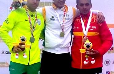 Santiago Marín, ORO en el BMX de los Juegos Nacionales