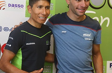 Nairo Quintana y Fernando Gaviria serán dos de las grandes figuras del Tour de San Luis 2016